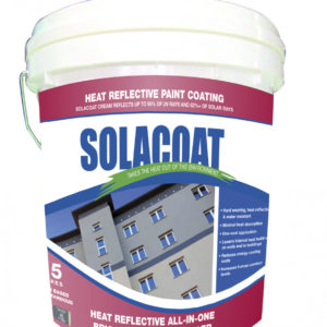 Solacoat Heat Reflective All-In-One Brick & Concrete Render
