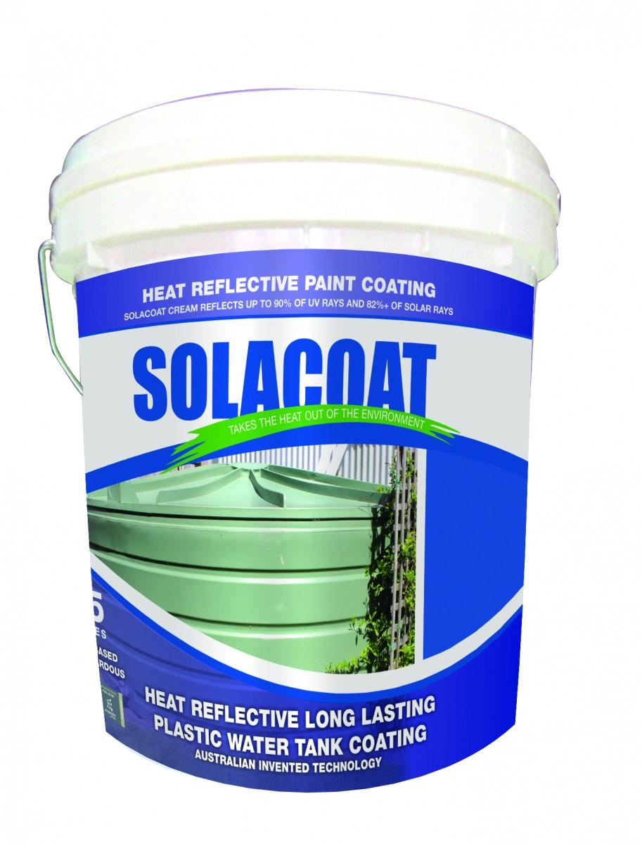 Solacoat Heat Reflective Long Lasting Plastic Water Tank