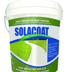Solacoat Heat Reflective Non-Slip Waterproof Pavement Coating