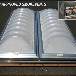 UL and FM Approved Prismatic Smoke Vents.