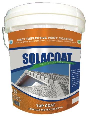 Solacoat Heat Reflective Metal And Porous Roof Coating System Sunteks International